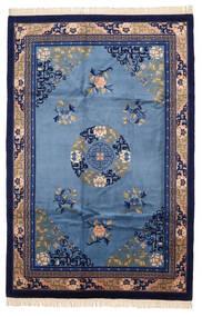 Kina Antikfinish Tæppe 183X274 Ægte Orientalsk Håndknyttet Mørkelilla/Blå (Uld, Kina)