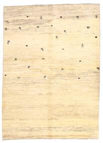 Gabbeh Persia Tæppe 169X236 Ægte Moderne Håndknyttet Beige/Gul (Uld, Persien/Iran)