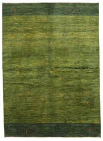 Gabbeh Persia Tæppe 165X230 Ægte Moderne Håndknyttet Mørkegrøn/Olivengrøn (Uld, Persien/Iran)
