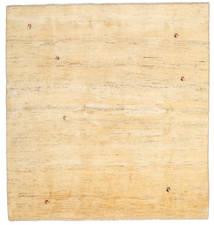 Gabbeh Persia Tæppe 195X207 Ægte Moderne Håndknyttet Kvadratisk Beige/Mørk Beige (Uld, Persien/Iran)