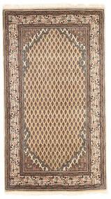 Mir Indisk Tæppe 93X166 Ægte Orientalsk Håndknyttet Brun/Lysebrun (Uld, Indien)