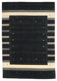 Loribaf Loom Tæppe 203X299 Ægte Moderne Håndknyttet Sort (Uld, Indien)