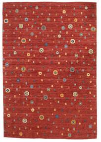 Loribaf Loom Tæppe 165X240 Ægte Moderne Håndknyttet Rust/Mørkerød (Uld, Indien)