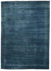 Gabbeh Loribaft Tæppe 197X276 Ægte Moderne Håndknyttet Mørkeblå (Uld, Indien)