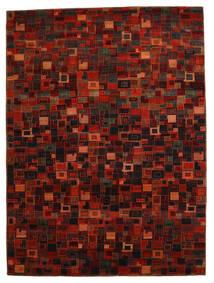 Gabbeh Loribaft Tæppe 260X351 Ægte Moderne Håndknyttet Mørkerød/Rød Stort (Uld, Indien)