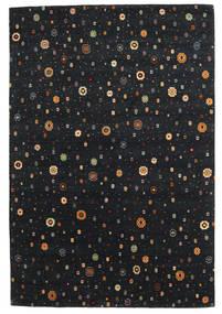 Loribaf Loom Tæppe 169X238 Ægte Moderne Håndknyttet Sort (Uld, Indien)