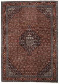 Ardebil Tæppe 246X352 Ægte Orientalsk Håndknyttet Mørkerød/Mørkebrun (Uld, Persien/Iran)