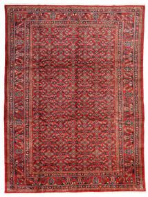 Lillian Tæppe 285X375 Ægte Orientalsk Håndknyttet Mørkerød/Rust Stort (Uld, Persien/Iran)