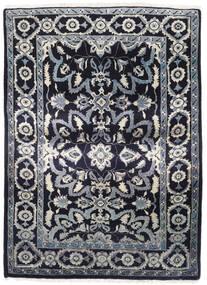Sarough Tæppe 111X156 Ægte Orientalsk Håndknyttet Mørkelilla/Lysegrå/Mørkegrå (Uld, Persien/Iran)