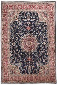 Kerman Tæppe 253X372 Ægte Orientalsk Håndknyttet Mørkegrå/Mørkelilla Stort (Uld, Persien/Iran)