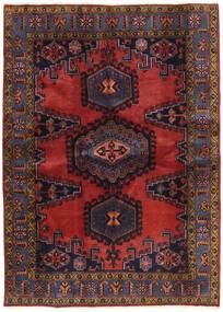 Wiss Patina Tæppe 173X239 Ægte Orientalsk Håndknyttet Mørkerød/Sort (Uld, Persien/Iran)
