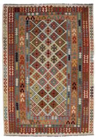Kelim Afghan Old Style Tæppe 205X297 Ægte Orientalsk Håndvævet (Uld, Afghanistan)