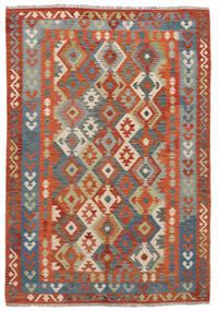 Kelim Afghan Old Style Tæppe 170X244 Ægte Orientalsk Håndvævet (Uld, Afghanistan)