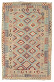 Kelim Afghan Old Style Tæppe 160X245 Ægte Orientalsk Håndvævet (Uld, Afghanistan)