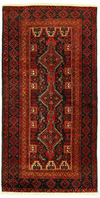 Beluch Tæppe 96X193 Ægte Orientalsk Håndknyttet (Uld, Persien/Iran)