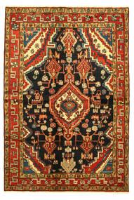 Hamadan Tæppe 138X203 Ægte Orientalsk Håndknyttet (Uld, Persien/Iran)