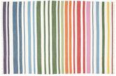 Rainbow Stripe - Hvid